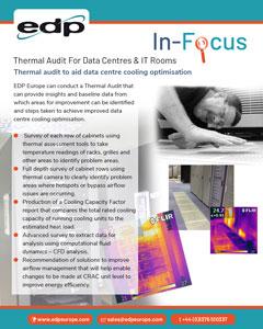 Data Centre Thermal Audit provides insights and baseline data for improving cooling optimisation