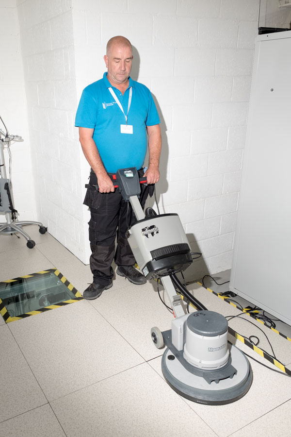 Data Centre Floor Cleaning Services