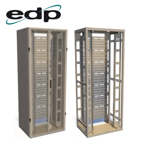 EDP Europe's 42U High Density Patching Frame