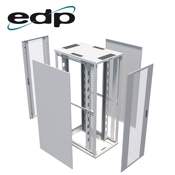 Exploded view of EDP Europe's Data Centre server cabinet