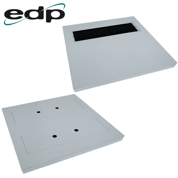 EDP Heavy Duty Brushed Floor Tiles with Single or Double Openings