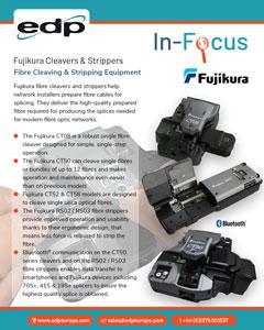 Fujikura Fibre Cleavers and Fibre Strippers from fibre cable preparation
