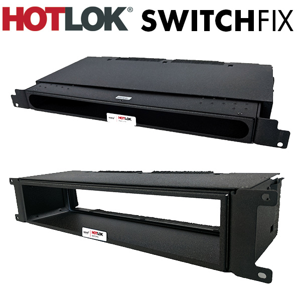 HotLok SwitchFix Passive Network Switch Cooling