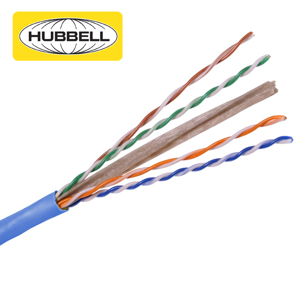 Hubbell CPR Compliant CAT6 U/UTP Cable