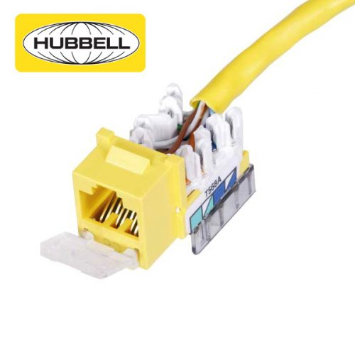Hubbell Cat6 Jack