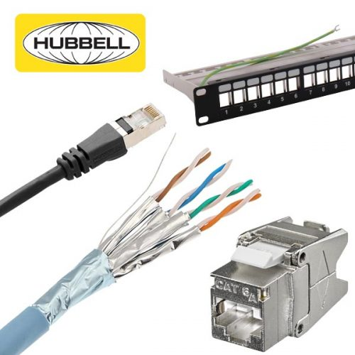 Hubbell CAT6A Shielded Solutions