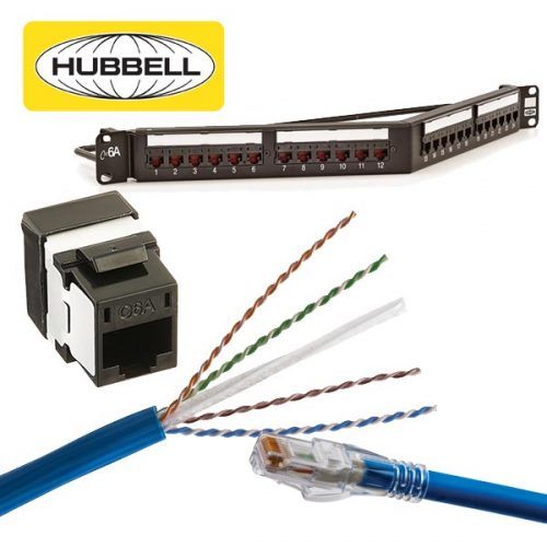 Hubbell CAT6A Solutions