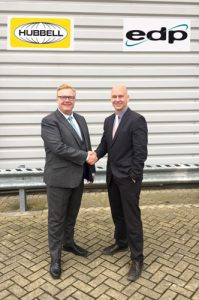EDP Europe appoint UK Distributor for Hubbell Premise Wiring solutions