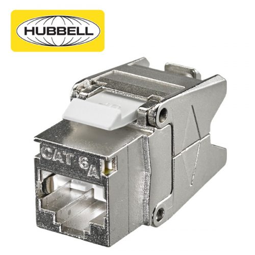 Hubbell Shielded Cat6A Jack
