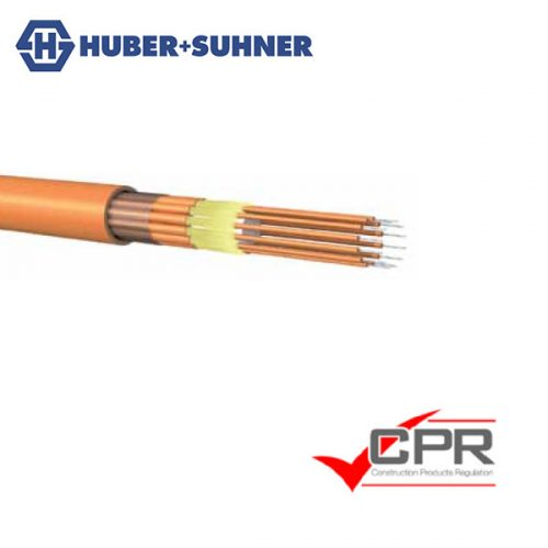 HUBER+SUHNER 1.4mm Breakout Fibre Cable OS2 OM3 OM4 0.6mm Tight Tube LSFH fibre cable