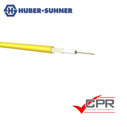 HUBER+SUHNER 7mm and 12mm Glass Armoured Multi-Fibre Loose Tube Fibre Cable with up to 24 fibres
