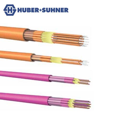 HUBER+SUHNER Fibre Breakout Cables OS2 OM3 OM4