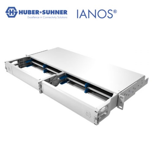 HUBER+SUHNER IANOS Lite Chassis for medium-density fibre installations