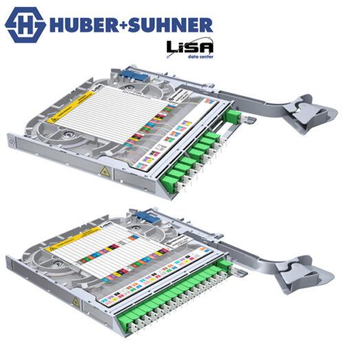 HUBER+SUHNER LISA Splitting Fibre Trays
