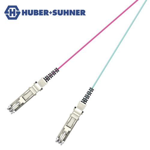 HUBER+SUHNER Multi-Mode OM3 OM4 LSH E2000 BTW Pigtails