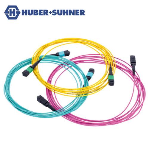 HUBER+SUHNER Optipack MTP-MTP Fibre Jumper Cables