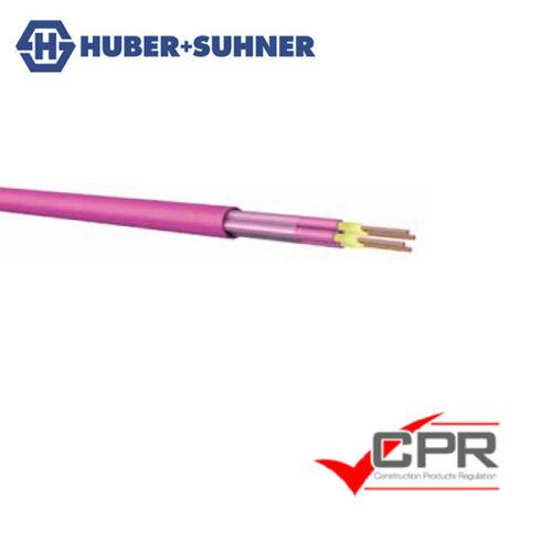 HUBER+SUHNER Optipack 8 MTP Breakout Fibre Cable