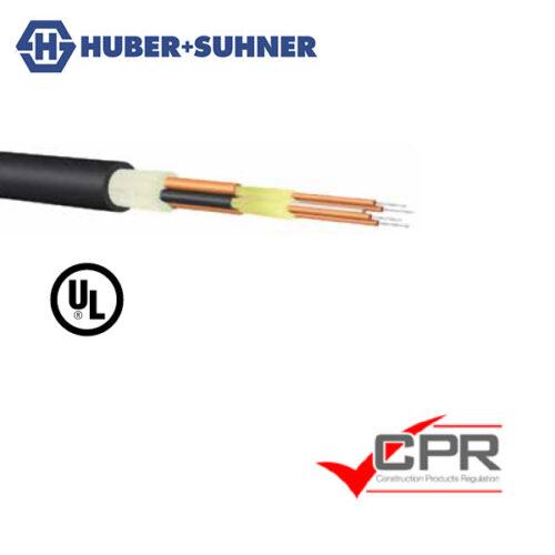 HUBER+SUHNER QUADFIX Industrial Link Cable 2.2mm Simplex 0.9mm Tight Tube Fibre