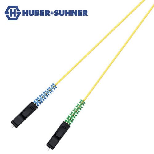 HUBER+SUHNER Single Mode UPC APC LC-HQ BTW Pigtails