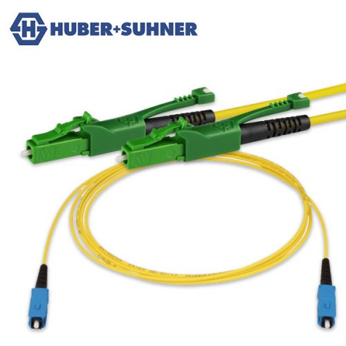 HUBER+SUHNER Single Mode Simplex Patch Cords