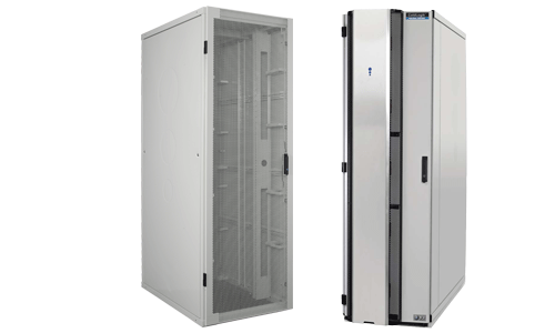 19in Racks for various Data Centre applications including server racks, network racks, water cooled solutions, co-location 19in racks and IP Soundproof cabinets