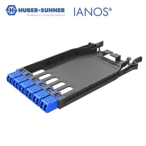 HUBER+SUHNER IANOS Base 2 LC-LC Patch Module
