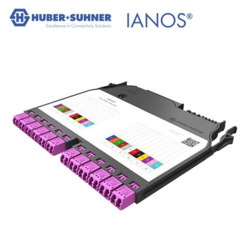 HUBER+SUHNER IANOS Base 2 Splice Module