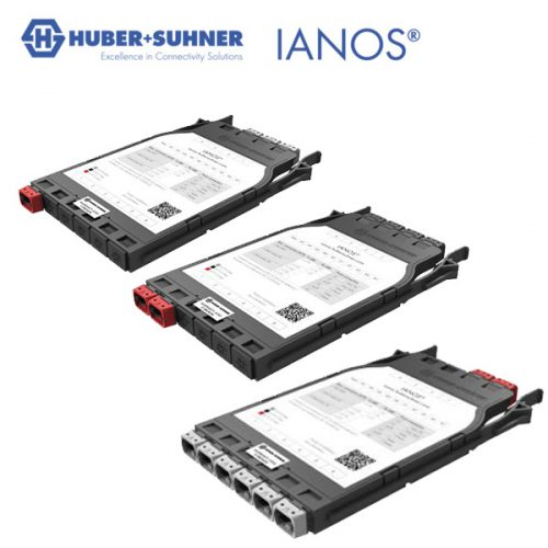 HUBER+SUHNER IANOS Base 8, Base 12 or Base 24 MTP-MTP Conversion Module