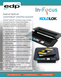 KoldLok SplitLok Upsite Technologies Latest raised floor groomets