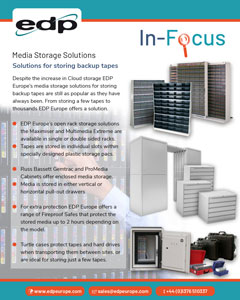 Media storage solutions for storing backup media tapes