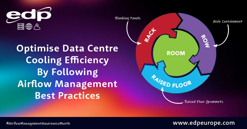 Optimise Data Centre Cooling Efficiency By Following Airflow Management best practices