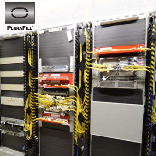 "PlenaFill 23"" Blanking Panels for 23"" Wide Telco Racks"