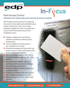 Rack Access Control solutions for improving IT rack security and controlled access to them