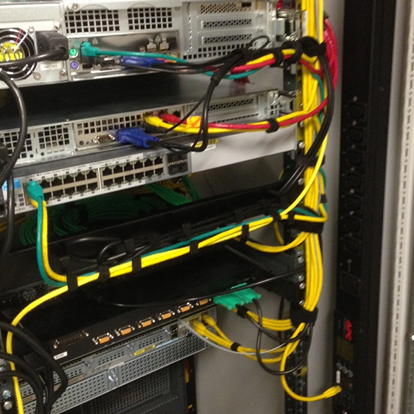 Rack Configuration Services include cable management