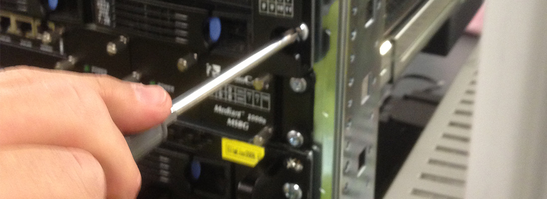 Rack Configuration Services enable equipment to be pre-installed in racks
