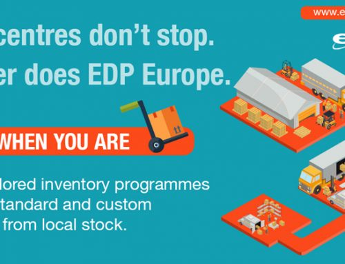 Data Centre Supply Chain Peace of Mind Using EDP Europe's Inventory & Supply Chain Services