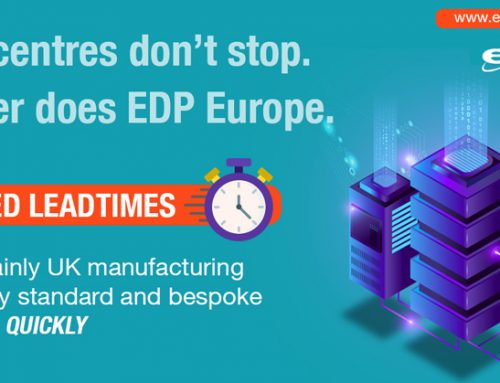 Reduce leadtimes using EDP Europe's custom Data Centre solutions