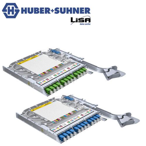 HUBER+SUHNER LiSA Ribbon Fibre Tays