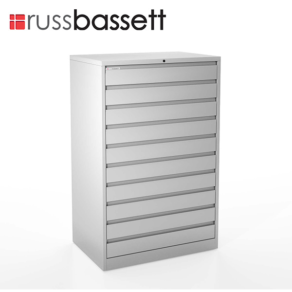 Russ Bassett Tall ProMedia Cabinet for LTO Storage