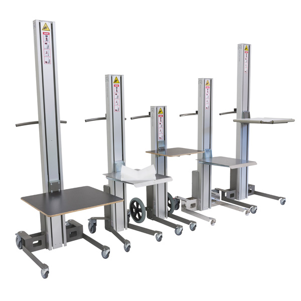 Slim-Line Lite Battery Server Lift Range