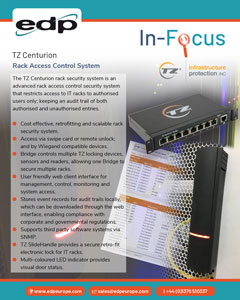 TZ Centurion Rack Access Control and Rack Security System