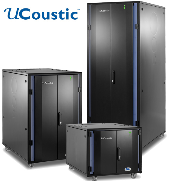 UCoustic Edge 9210i Soundproof Server Cabinet - EDP EUROPE