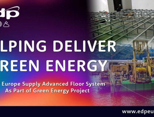 Advanced Bergvik Iso Floor System Aids Green Energy Initiatives