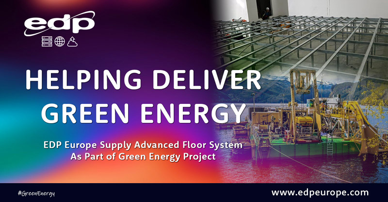 Bergvik Iso Floor System Aids Green Energy Initiatives