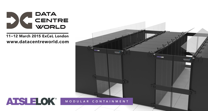 AisleLok Modular Containment to be exhibited at Data Centre World 2015