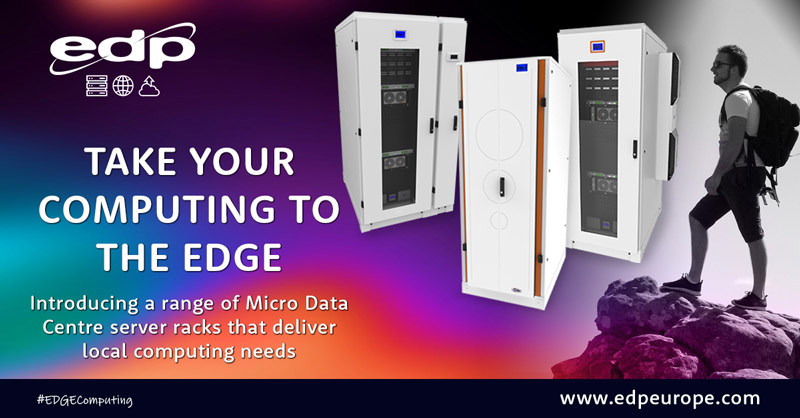 EDGE Computing using the latest Micro Data Centre cabinets