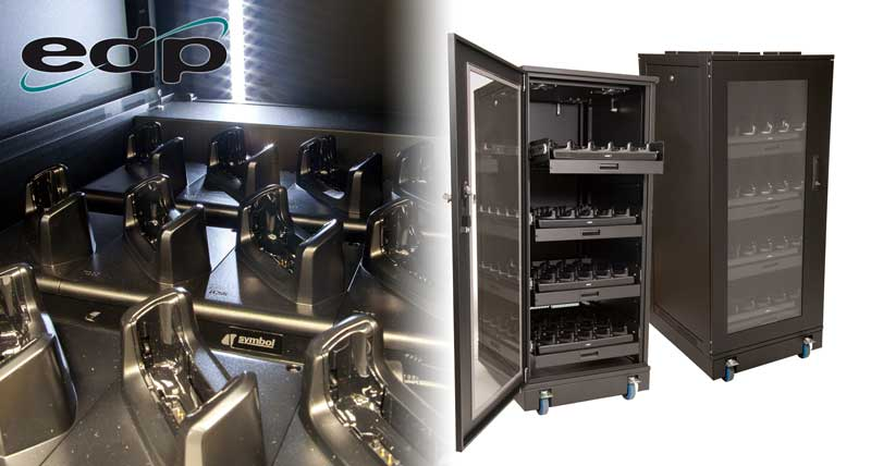 View Larger Image Edp Charging Cabinets For Handheld Devices