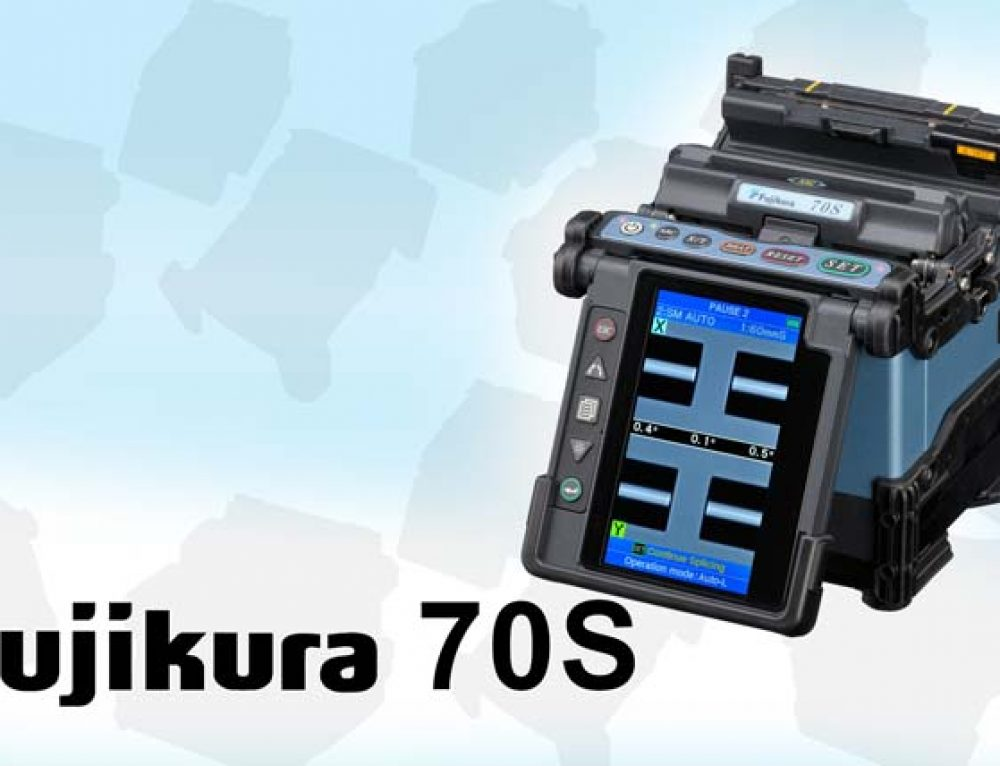 Fujikura 70S Leading The Way in Fusion Splicing