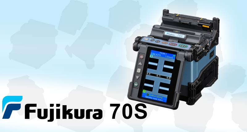 Fujikura 70S Fusion Splicer Leads The Way In Fusion Splicing
