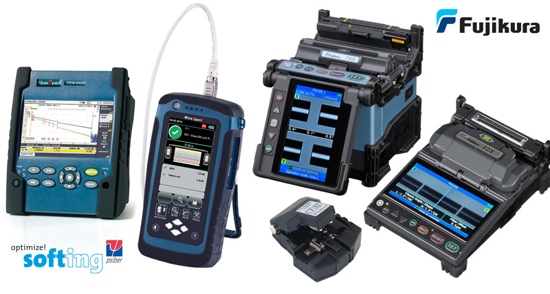 Fujikura Fusion Splicers and Softing Cable Testers Now Available from EDP Europe